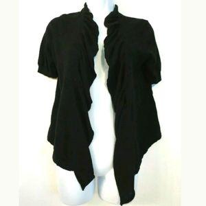 Ann Taylor Loft cardigan sweater Linen cotton